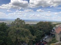 Briançon лежит на ноге спуска от Col de Montgenèvre, давая доступ к Турин, поэтому огромное количество других городищ были постро стоковые фото