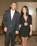 Megan Fox,Brian Austin Green Royalty Free Stock Images