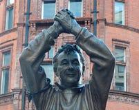 Brian Clough Statue arkivfoton