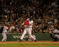 Brian Daubach, Boston Red Sox. Boston Red Sox 1B Brian Daubach. (Image taken from color slide Royalty Free Stock Photo