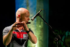 Brian Finnegan in concert Royalty Free Stock Photo