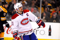 Brian Gionta Montreal Canadiens Royalty Free Stock Photos
