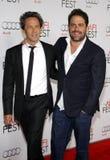 Brian Grazer and Brett Ratner Royalty Free Stock Image