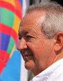 Brian Jones, balloonist ed aeronauta Fotografia Stock Libera da Diritti