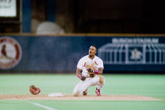 Brian Jordan St Louis Cardinals Fotografering för Bildbyråer