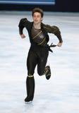 Brian JOUBERT (FRA) free skating Royalty Free Stock Photo