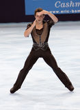 Brian JOUBERT (FRA) short program Royalty Free Stock Photos