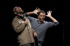 Brian Mørk y Omar Marzouk Fotos de archivo