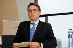 BRIAN MIKKELSEN_MINISTER FÜR GESCHÄFT UND HANDEL Lizenzfreies Stockfoto
