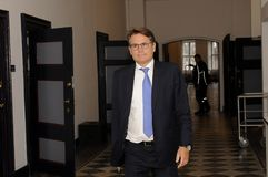 BRIAN MIKKELSEN_MINISTER FÜR HANDEL UND GESCHÄFT Stockfotografie
