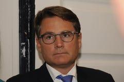 BRIAN MIKKELSEN_MINISTER FÜR HANDEL UND GESCHÄFT Stockbild
