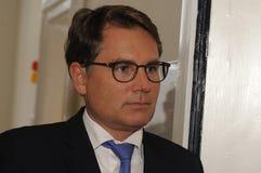 BRIAN MIKKELSEN_MINISTER FÜR HANDEL UND GESCHÄFT Stockbilder