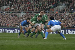 Brian O'Driscoll,Ireland V Italy,6 Nations Rugby Royalty Free Stock Photos