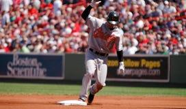 Brian Roberts, Baltimore Orioles Stock Image