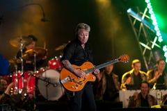 Brian Setzer Orchestra opens Montreal Jazz Festiva Stock Image