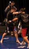 Brian Stann UFC 125 à la séance d'entraînement ouverte 12/30/2010 de MGM Image stock