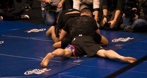 Brian Stann UFC 125 à la séance d'entraînement ouverte 12/30/2010 de MGM Photo libre de droits