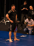 Brian Stann UFC 125 bij MGM open training 12/30/2010 Royalty-vrije Stock Foto