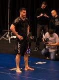 Brian Stann UFC 125 en MGM abre el entrenamiento 12/30/2010 Foto de archivo libre de regalías