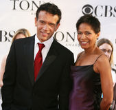 Brian Stokes Mitchell and Allyson Tucker Royalty Free Stock Photo