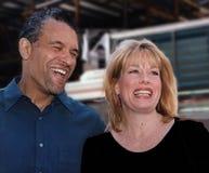 Brian Stokes Mitchell y Marin Mazzie imagen de archivo libre de regalías