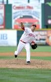 Brian Stokes - Riversharks pitcher - baseball Royalty Free Stock Photos