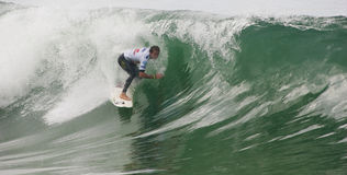Brian Toth (PRI) in ASP World Qualifier Royalty Free Stock Image