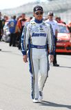 Brian Vickers on pit road Royalty Free Stock Photos