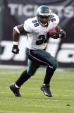 Brian Westbrook. Eagles running back Brian Westbrook. Sept 12th 2004 Royalty Free Stock Photography