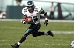 Brian Westbrook. Eagles running back Brian Westbrook. 2004 Royalty Free Stock Images
