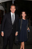 Brian Williams and Jane Stoddard Williams Royalty Free Stock Images