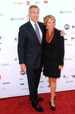 Brian Williams,Katie Couric Stock Images