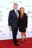Brian Williams,Katie Couric Royalty Free Stock Photography