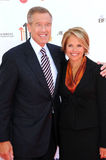 Brian Williams,Katie Couric Stock Image