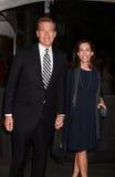 Brian Williams y Jane Stoddard Williams Imágenes de archivo libres de regalías