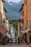 Briancon -法国阿尔卑斯-法国 免版税库存照片