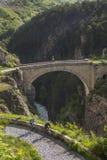 Briancon - alpi francesi - la Francia Fotografie Stock