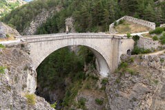 Briancon, France. Pont d'Asfeld. Royalty Free Stock Photography