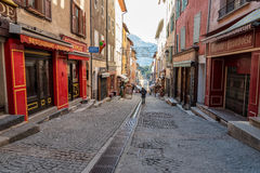 Briancon in Hautes Alpes, France Stock Photos