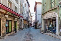 Briancon in Hautes-Alpes, Francia Immagini Stock