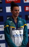Brianna Throssell Coupe du Monde Natation àChartres Stockfoto