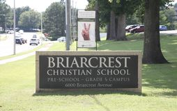 Briarcrest Christian School, Memphis Royalty Free Stock Images