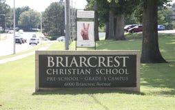 Briarcrest chrześcijanina szkoła, Memphis Obrazy Royalty Free