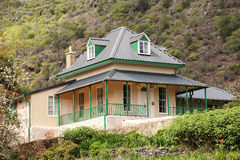 Briars Pavilion St Helena residence of Napoleon Royalty Free Stock Photos