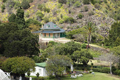 Briars Pavilion was Napoleon home on St Helena Stock Photography