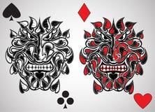 Bribón del jeck de la tarjeta ilustración del vector