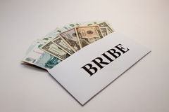 Bribe Royalty Free Stock Photos