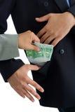 Bribe Royalty Free Stock Photo
