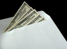 Bribe in an envelope Stock Photos