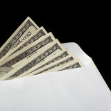 Bribe in an envelope Stock Photography